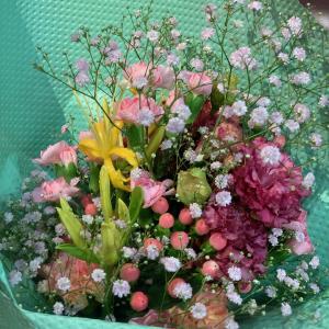 花束のレッスン・・・