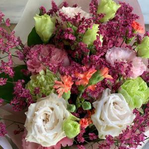 送別会の花束♪