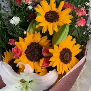 今日の花束・・・