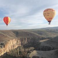 <新ロケーション>ウフララ渓谷で気球フライト