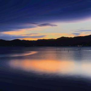 「夕暮れの浜名湖」との出会い