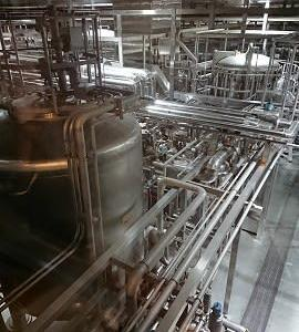 アサヒビールの工場見学