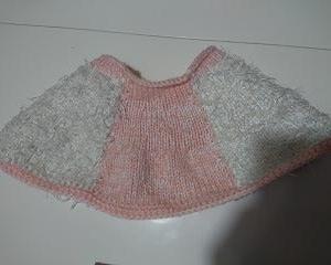 スカートを編み直してみる