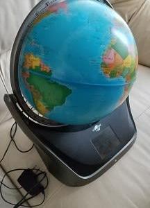 地球儀が来た!