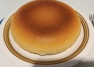 炊飯器パンケーキのボリューム!