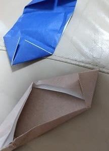 1歳児の折り紙作品