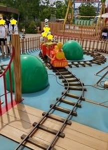 弐太郎、初の電車の乗り物