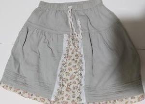 スカートをズボンへリメイク