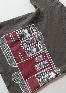 電車のTシャツの人気ぶり