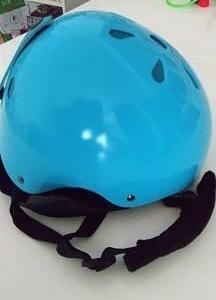 姫のヘルメットを買い替え