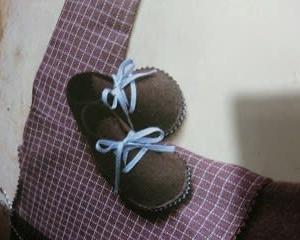 人形の靴を作る