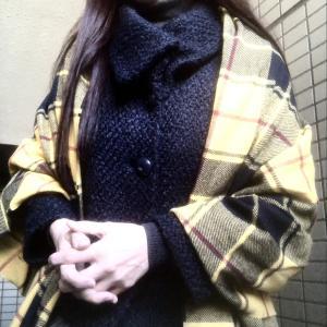 完全にナメていたGUのチェックストール×ユニクロセーター 美人養成塾