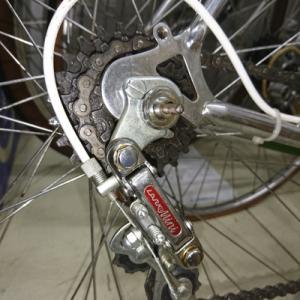 ラレーの自転車。