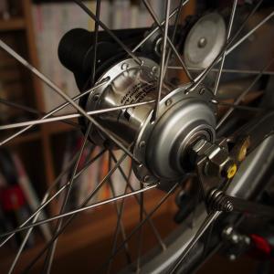 たまの、自転車。