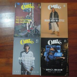 雑誌Ollie