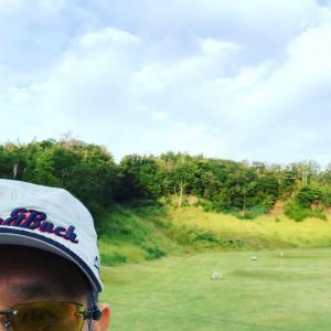 近江ヒルズゴルフ倶楽部☆☆☆☆☆(2019/9/19,晴,しゃくなげ→ささゆり→こぶし,スコア133,パット数51) 13,832歩