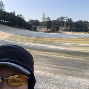 滋賀ゴルフクラブ☆☆☆☆☆(2021/1/14,晴れ,In→Out,スコア96,パット数36) 10,052歩