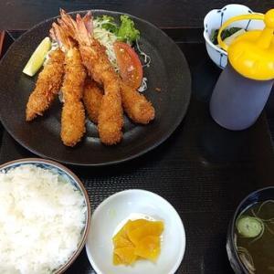 かがり火[村上市]~エビフライ定食