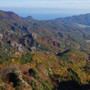 11月23日と24日の紅葉風景