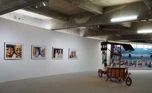 福武ハウスでも芸術作品の展示が始まりました。