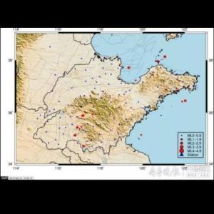 10月、山東省で43回の地震発生! 1668年には震級8;5の記録が