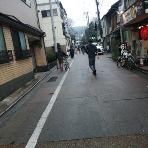 雨の京都: 京都は「ガラガラ」なんて嘘っぱち