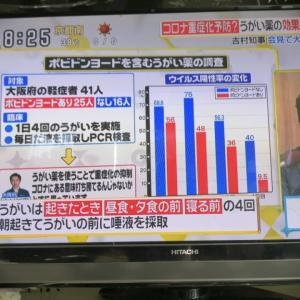 吉村知事「うがい薬(イソジン)」は、家庭内感染防止やカラオケに効果あり?
