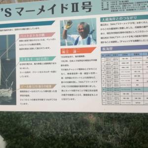 大蔵海岸「堀江健一・マーメイドII」を見ながら米国追従の日本人を嘆く