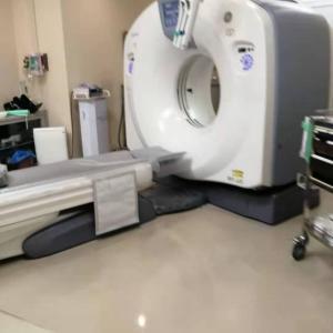 癌再発防止の経過観察(1回目)「造影剤を使ったCT検査」