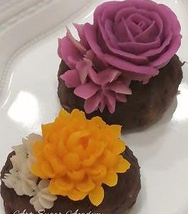 お花のおはぎ
