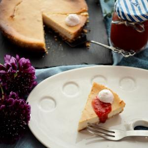 ギルトフリーのベイクドチーズケーキ♪