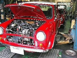 95年式クーパー1.3i車検整備