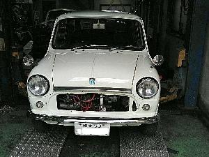 ミニMK3車検整備