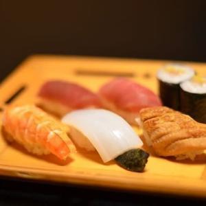 お寿司屋さんで一杯・・・