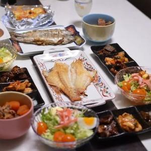 夕飯いろいろ、魚系かな・・・