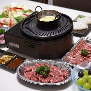 お家で、プレ-ト焼き肉を・・・