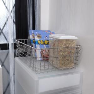 【ダイソー】見た目がシンプルなシリアルの保存容器。