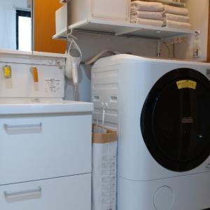 【ダイソー】隙間にぴったり!ペーパーストックバッグを使った洗濯かご。