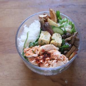 野菜をたっぷり 一週間のお弁当 #149