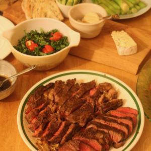 私的メモ 分厚いアメリカステーキを上手に焼く方法、習得中