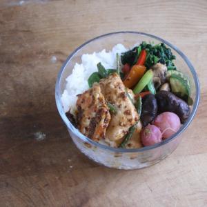 野菜をたっぷり 一週間のお弁当 #153