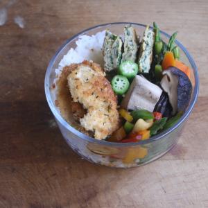 野菜をたっぷり 一週間のお弁当 #154
