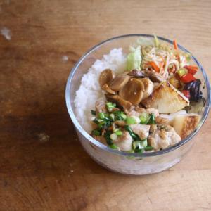 野菜をたっぷり 一週間のお弁当 #155
