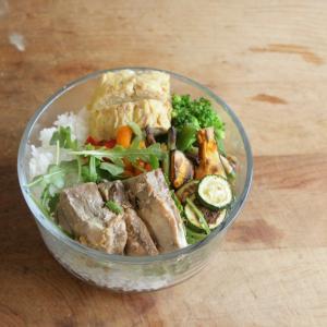 野菜をたっぷり 一週間のお弁当 #164