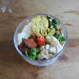 野菜をたっぷり 一週間のお弁当 #166
