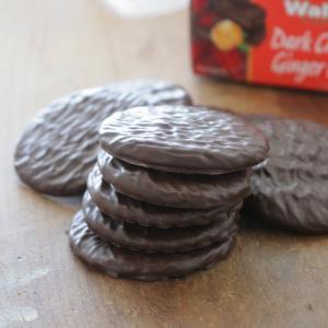 トレーダージョーズで買えるお菓子 バランスが取れいてるウォーカーのしょうが味のクッキー