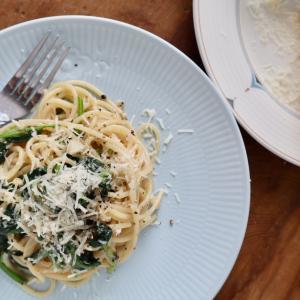 15分で作る絶品パスタ ローマのパスタ、カチェエペペ風スパゲティ