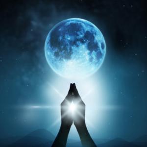 満月です 優しさも増幅させよう。