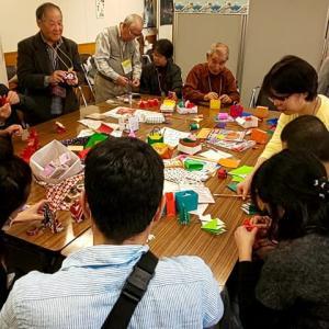 中央区で国際交流の集い「折り紙コーナー」を手伝いました!