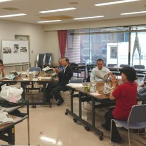 10月14日町田YMCAでカトー折り・ワークショップ